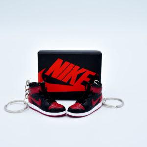 online store 17fd4 23e32 Nike Air Jordan 1 Sneaker Keychain (Bred)