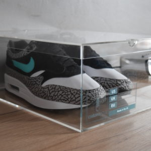 Original Acrylic Sneaker Display Box By Chromosole