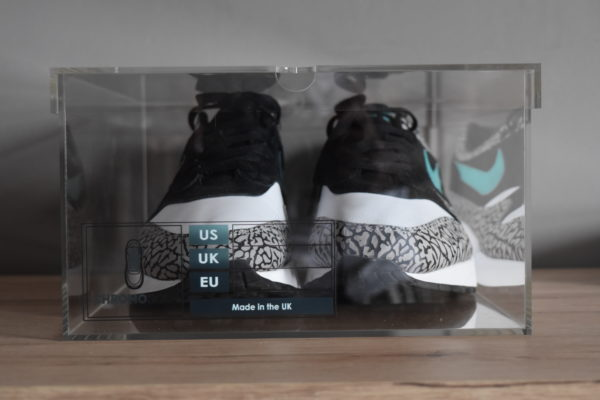Original Acrylic Sneaker Display Box By Chromosole Front