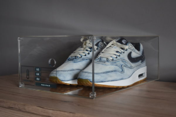 Magnetic Acrylic Sneaker Display Box By Chromosole side