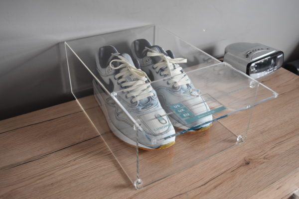 Magnetic Acrylic Sneaker Display Box By Chromosole top